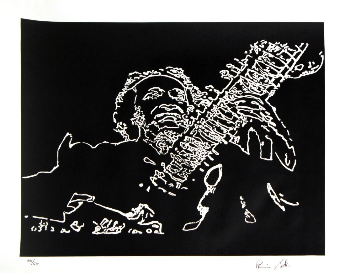 "Alain Bettex - Untitled from ""Album International 2"""