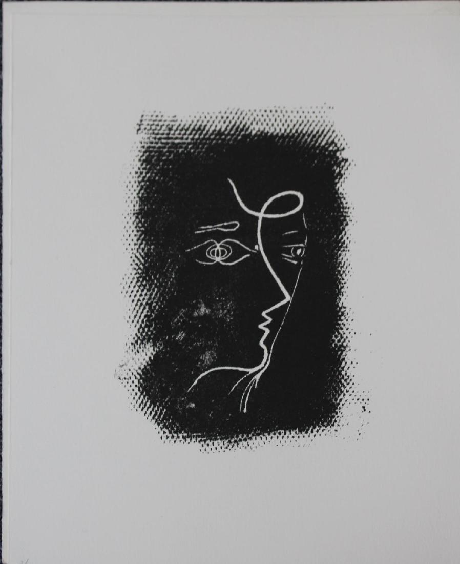 Georges Braque - Profil de Femme (M.25)