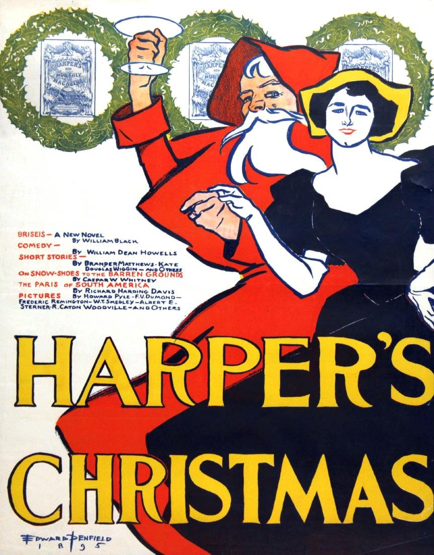 Edward Penfield - Harper's Christmas