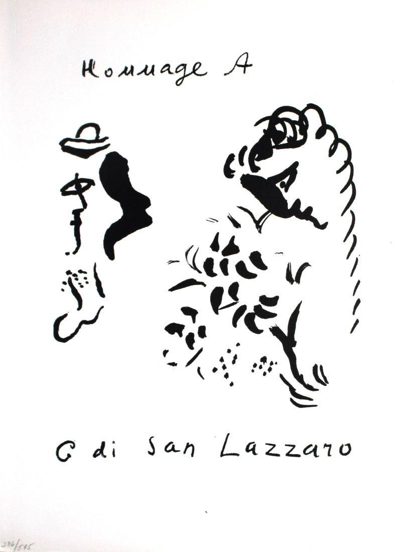 Marc Chagall - Homage A G di San Lazzaro
