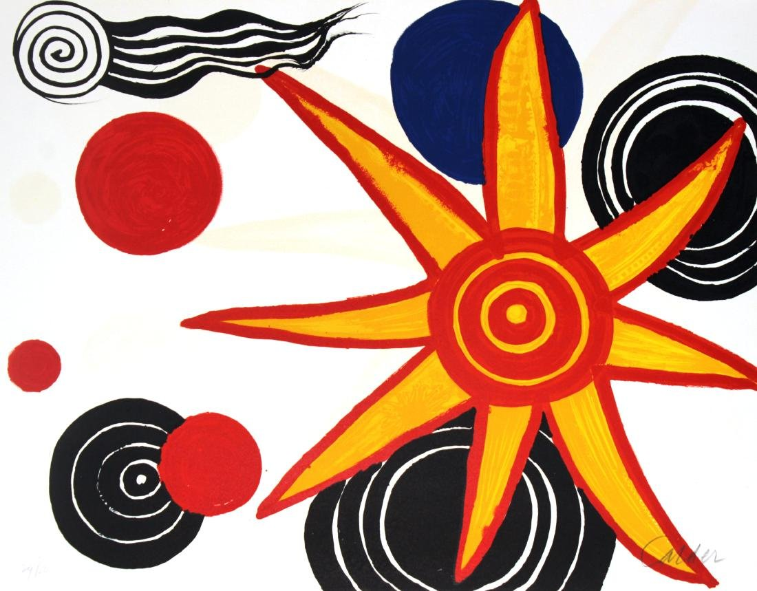 "Alexander Calder - Untitled from ""Album International"