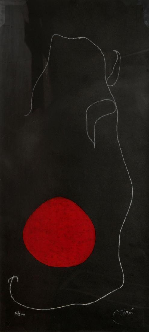 Joan Miro - Ouseau Devant le Soleil