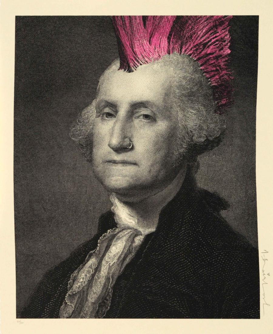 Mr. Brainwash - President's Day - Punk (Washington)