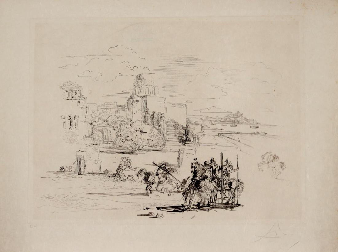 Salvador Dali - Rome and Cadaques
