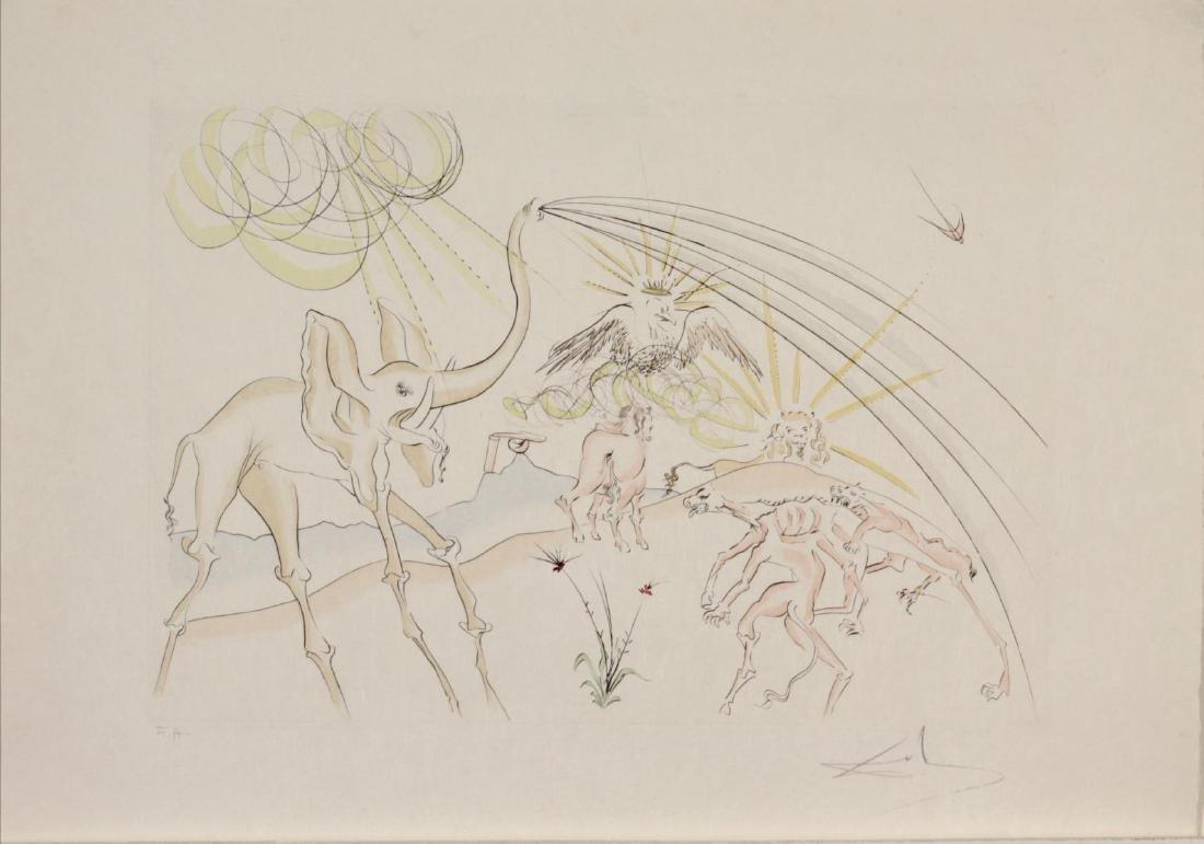 Salvador Dali - Les Animux Malades de la Peste