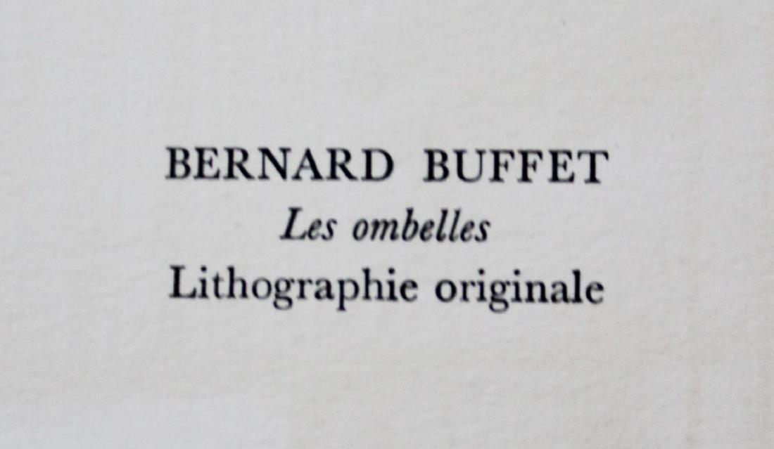 """Bernard Buffet - """"Les Ombelles"""" from Souvenirs de - 2"""