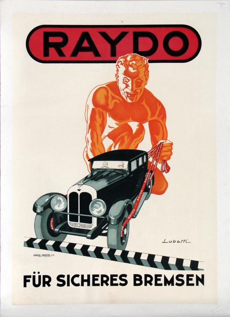 Lubatti - Vintage Raydo- Itallian Automobile Brake