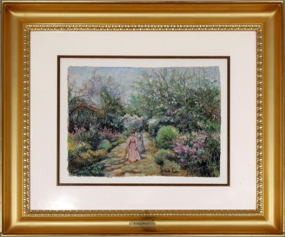 H. Claude Pissarro - La Jardin de la Villa Zapage