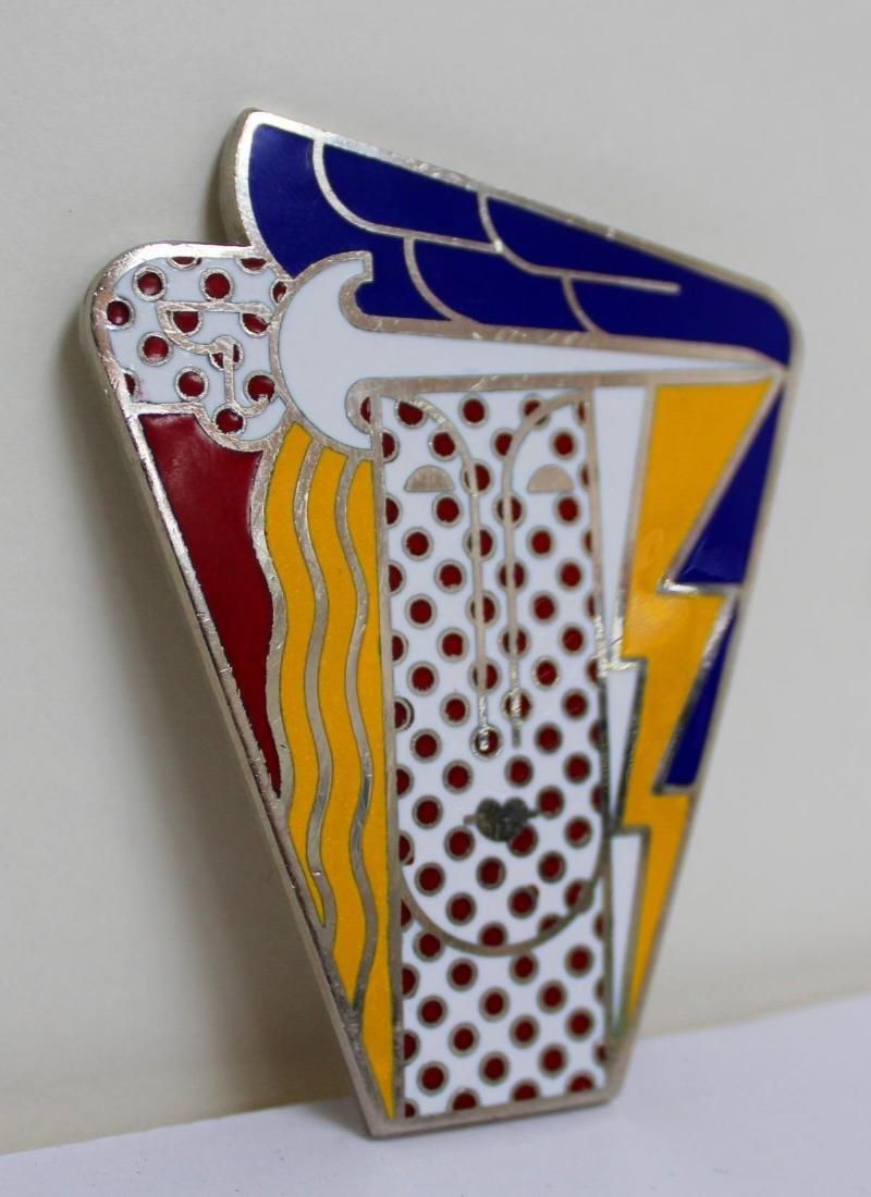 Roy Lichtenstein - Vintage Pop Art Brooch - 2