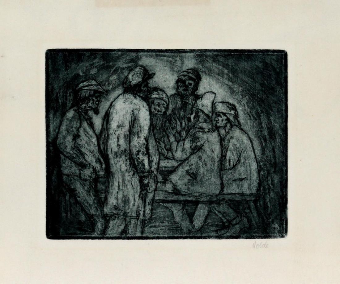 Emile Nolde - Tischgesellschaft