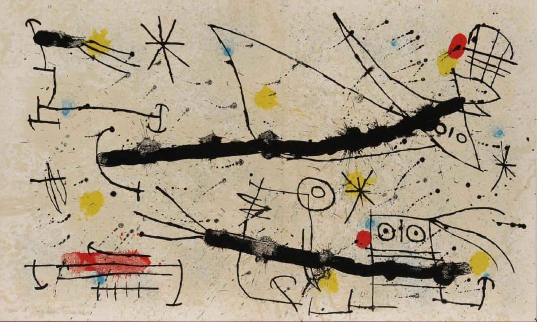 Joan Miro - Quelques Fleurs I