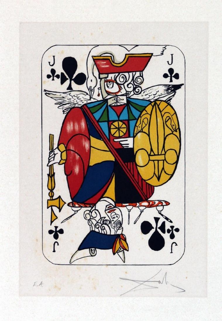 Salvador Dali - Jack of Clubs