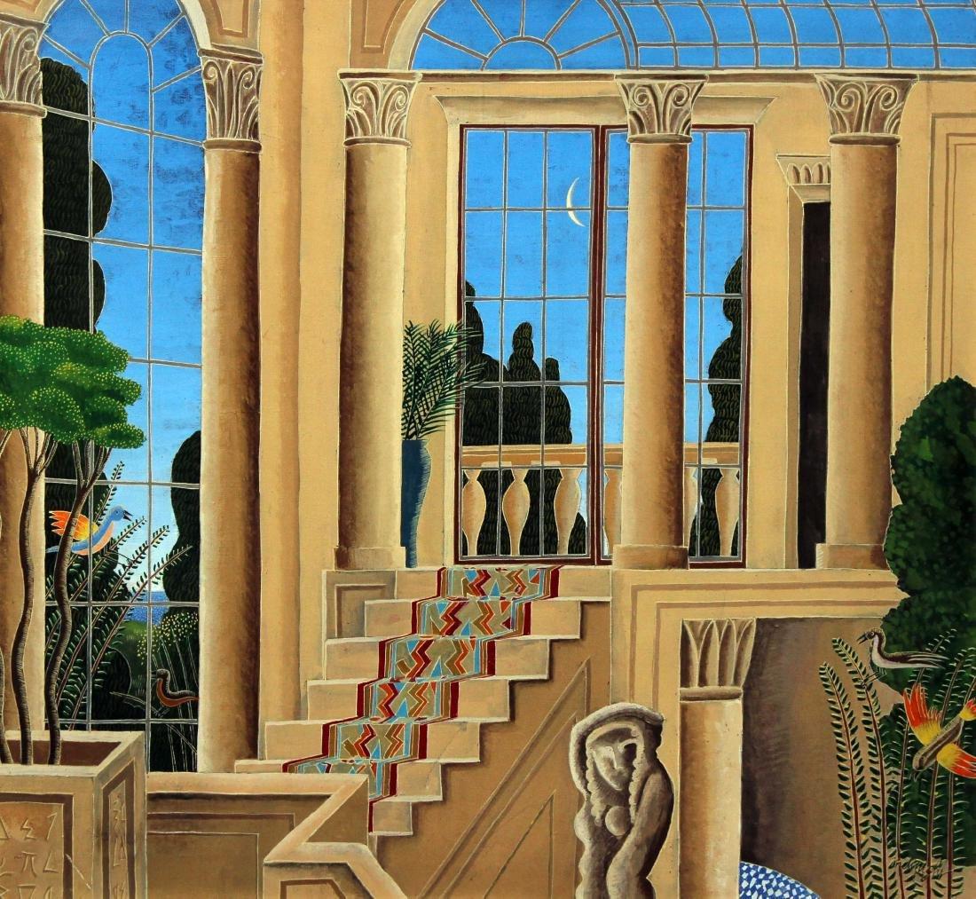 Thomas McKnight - Untitled Original Oil Painting