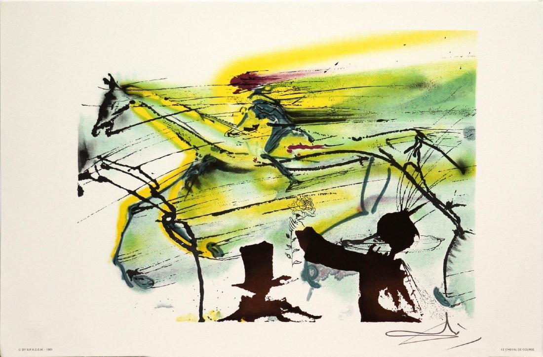 Salvador Dali (After) - Race Horse