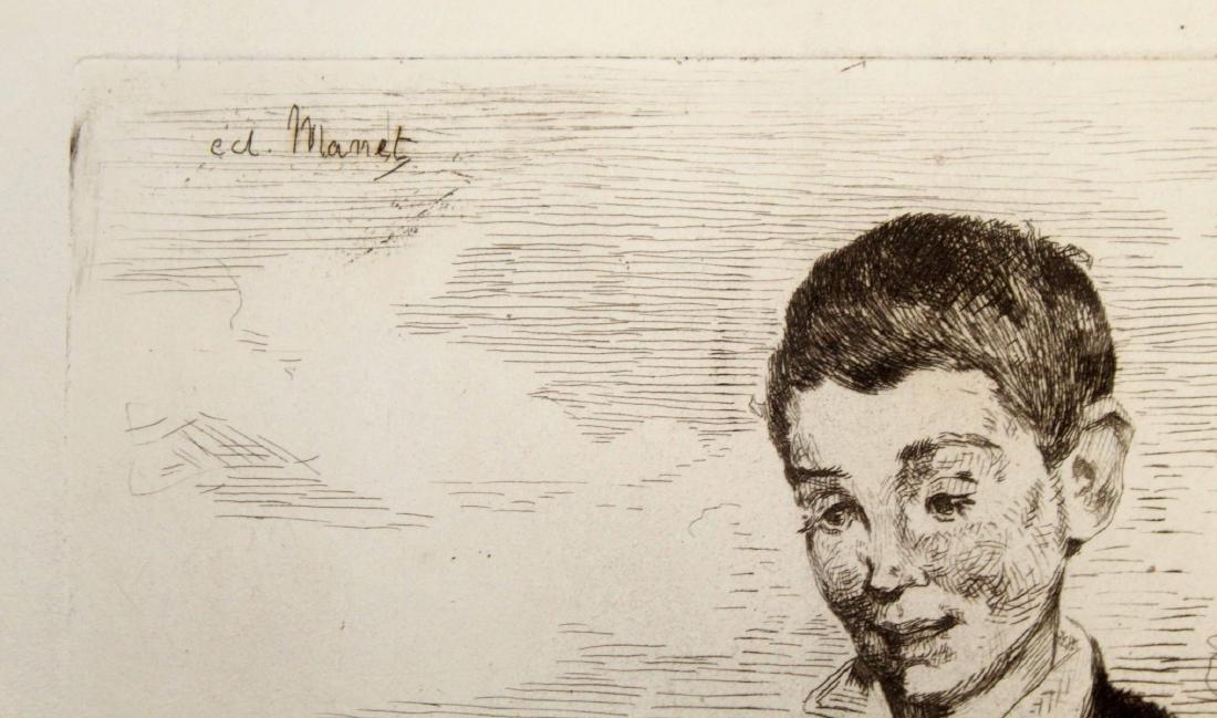 Edouard Manet - Le Gamin au Chien - 2