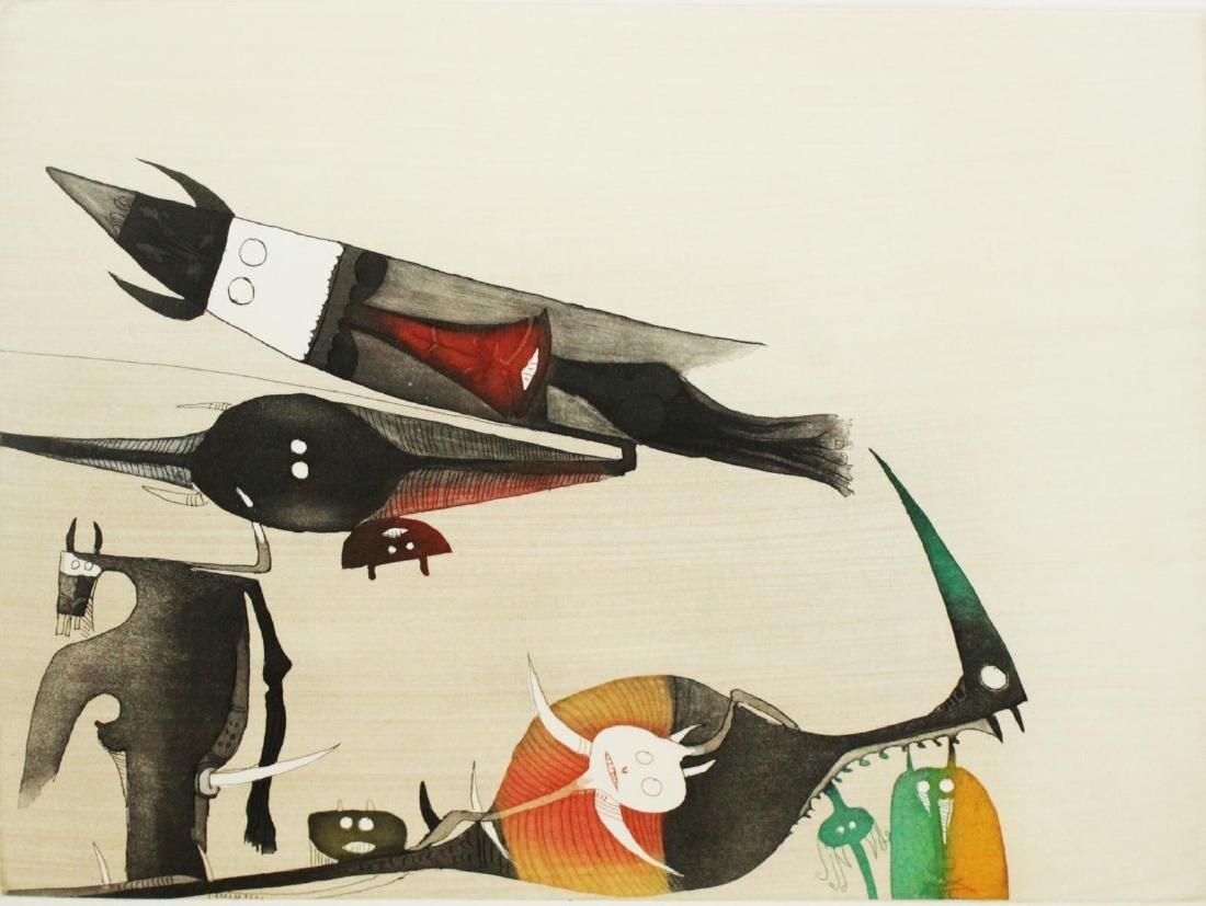 "Wilfredo Lam - Untitled from""Paris Siglo XX"""