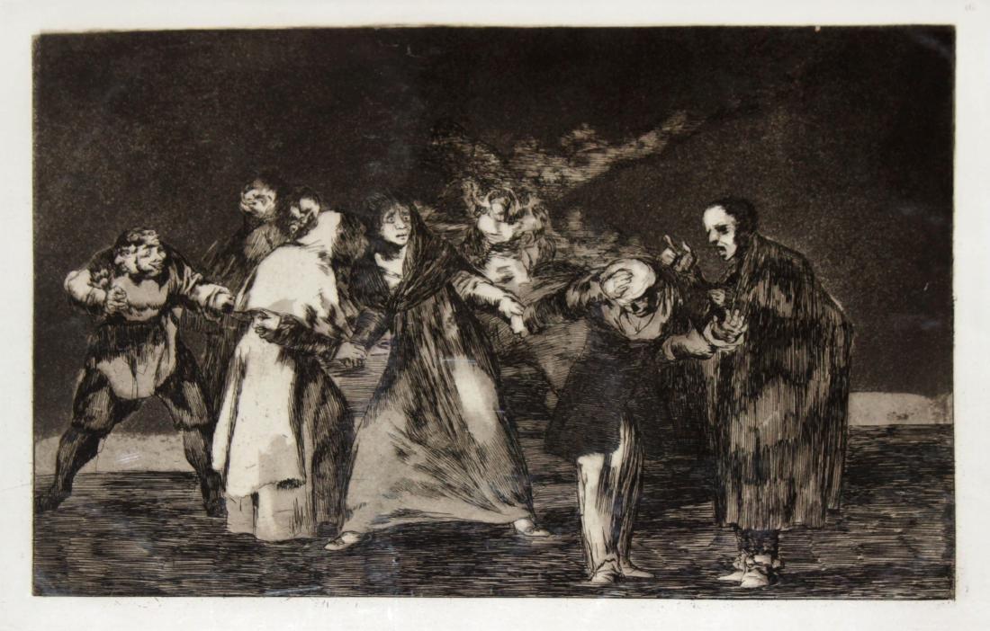 Francisco Goya - Sana Cuchilladas Mas No Malas Palabras