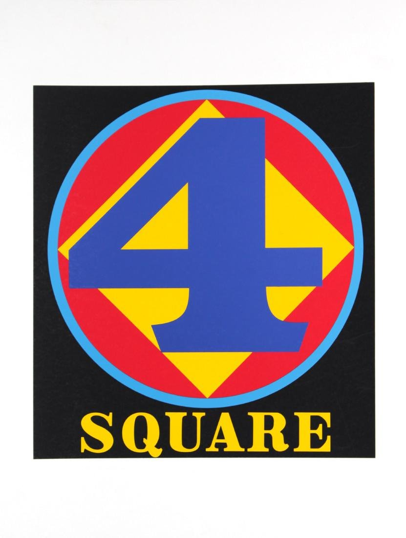 Robert Indiana - Polygon: Square