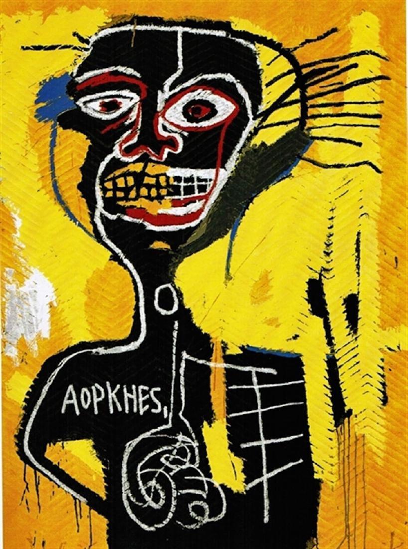 Jean-Michel Basquiat - Untitled (Cabeza)