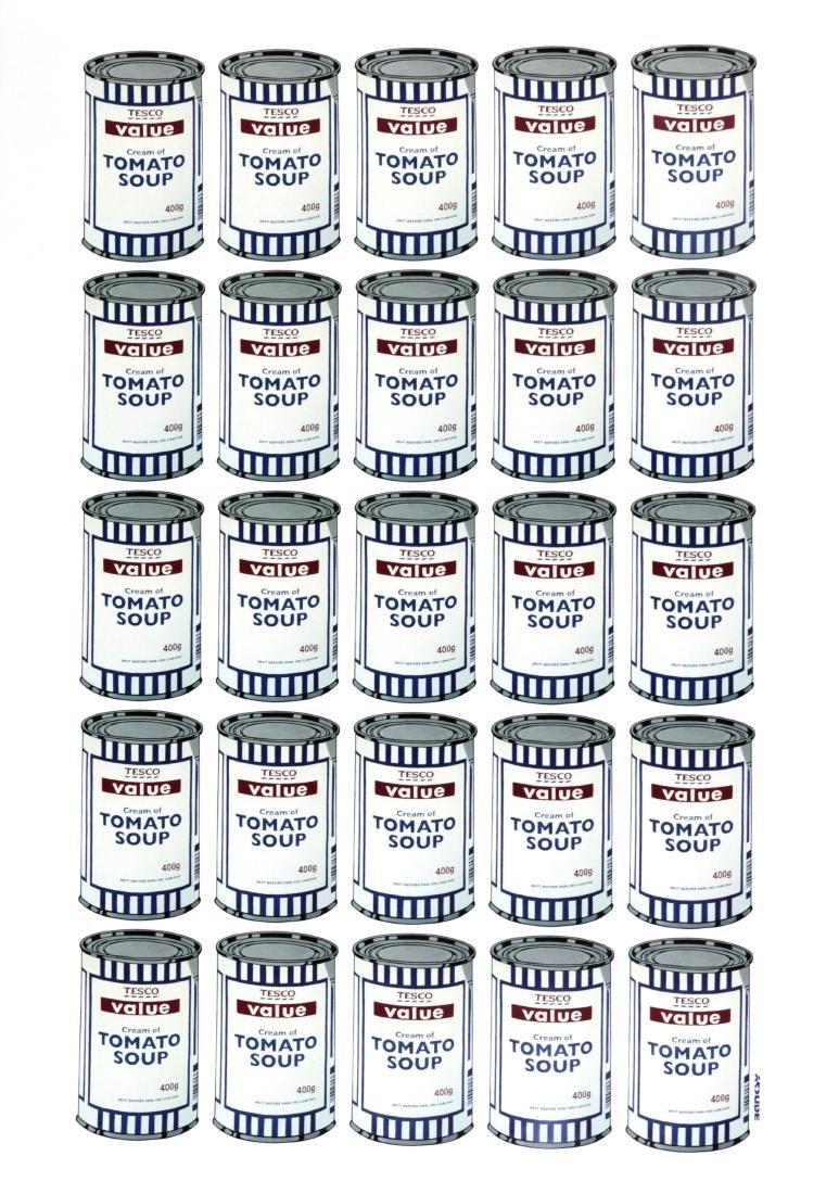 BANKSY - Tesco Cream of Tomato Soup