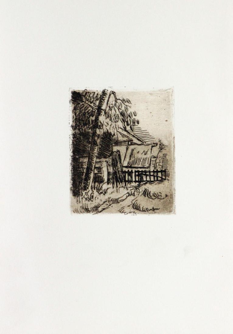Paul Cezanne - Paysage a Auvers