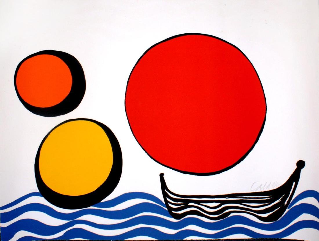 Alexander Calder - Bateau Noir