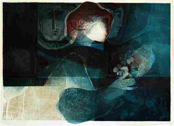 Sunol Alvar - Untitled Lithograph