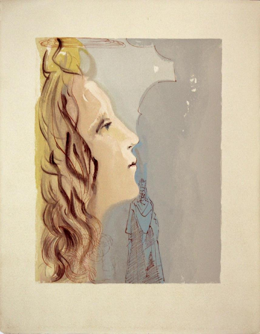 Salvador Dali - The Highest Beauty of Beatrice