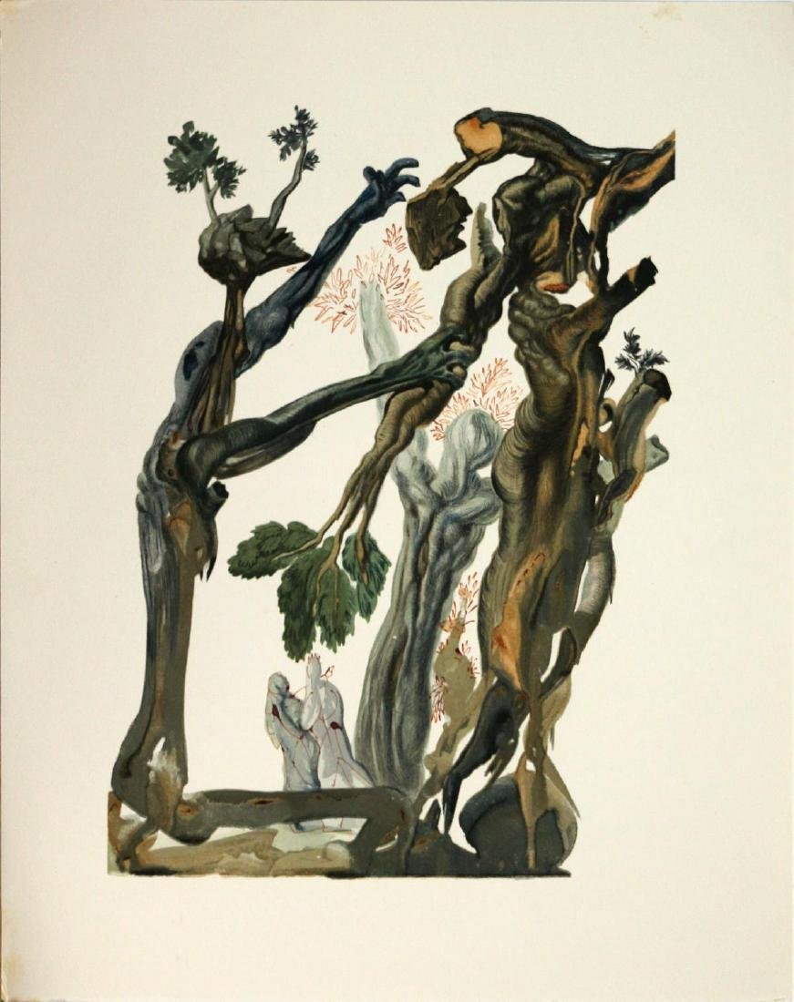 Salvador Dali - The Forrest of the Suicides
