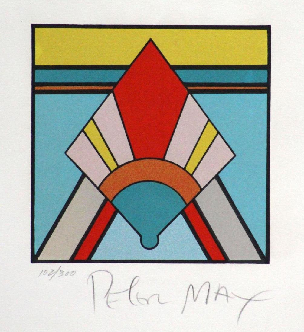 Peter Max - Geometric #3