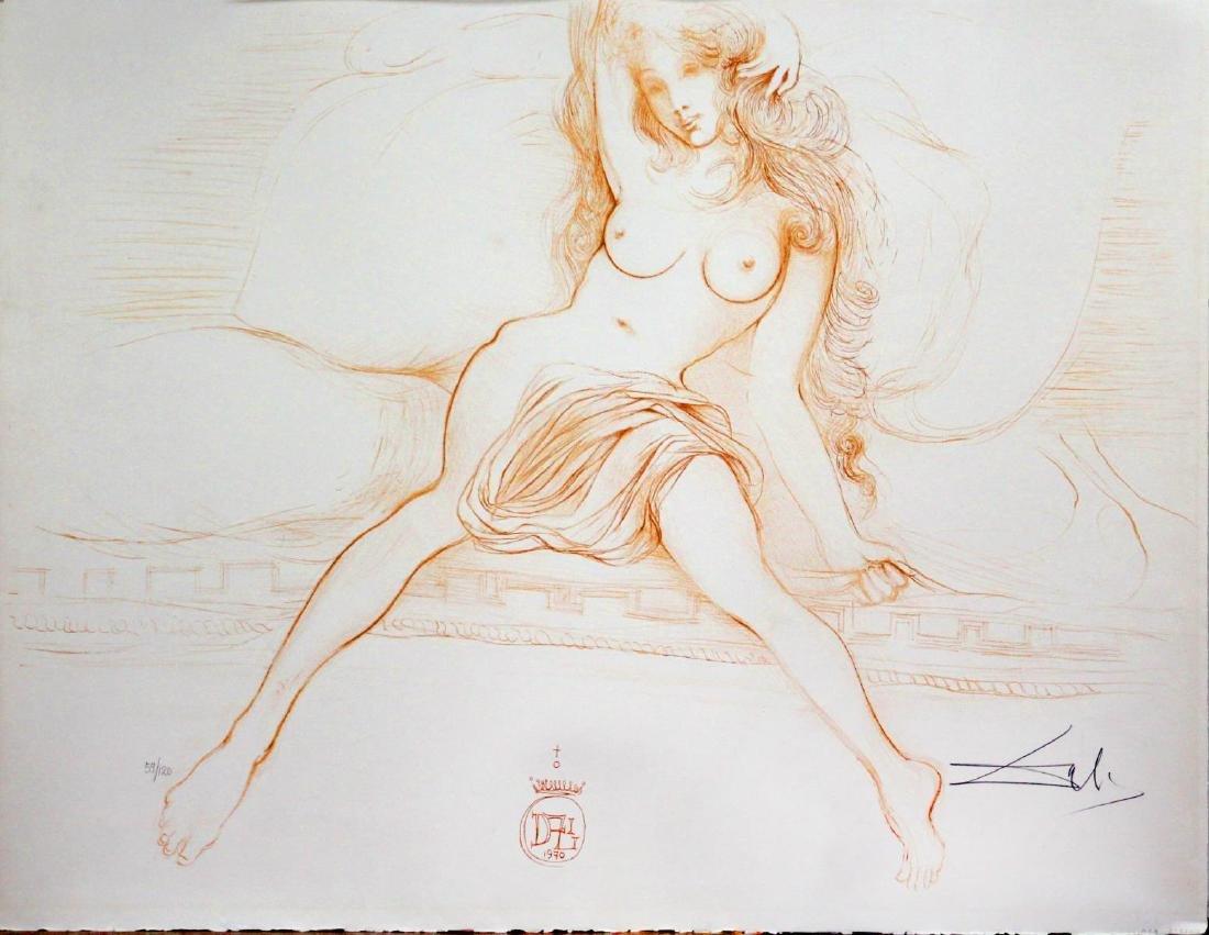 Salvador Dali - Young Woman Arising