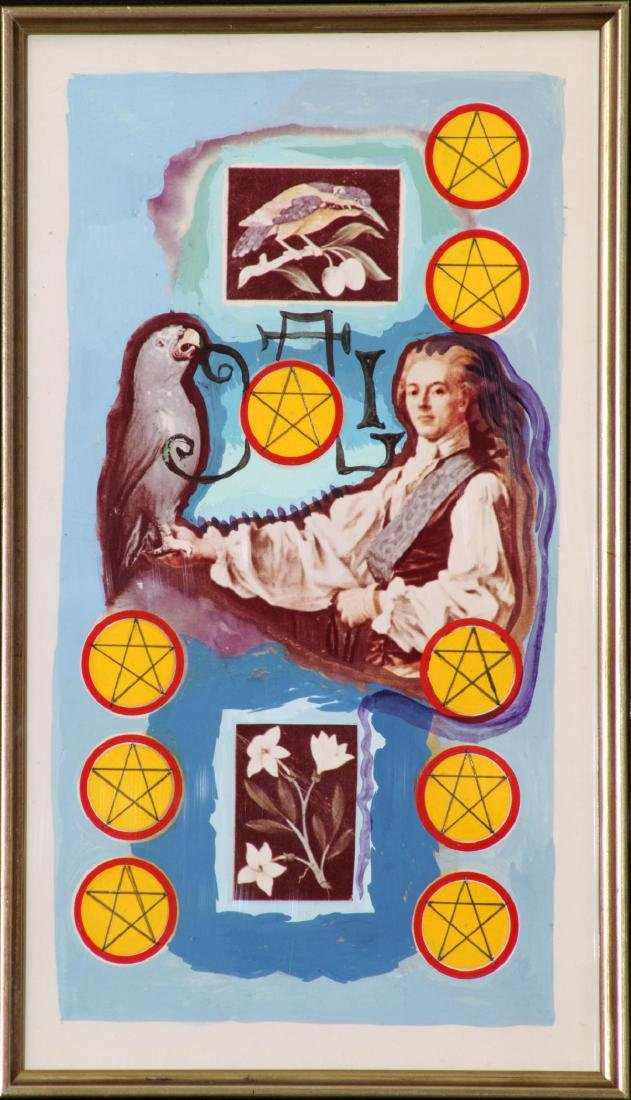 Salvador Dali - Nine of Pentacles Minor Arcana