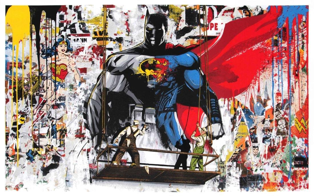 Mr. Brainwash - Batman vs. Superman