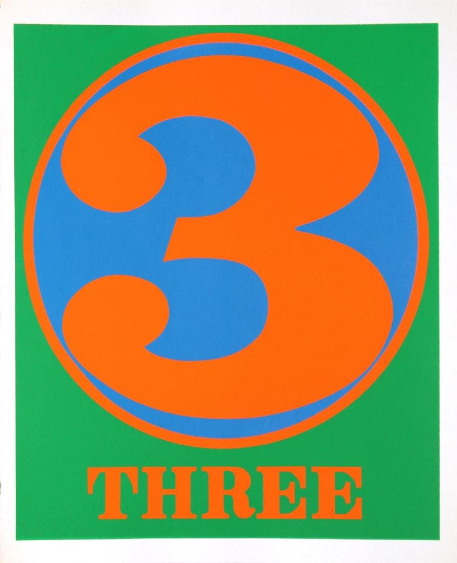 Robert Indiana - Three