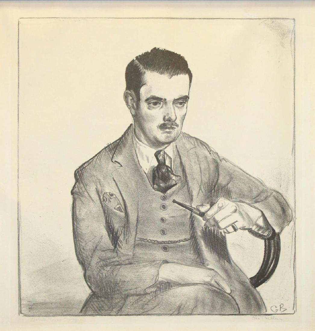 George Bellows - Portrait of Louis Bouche