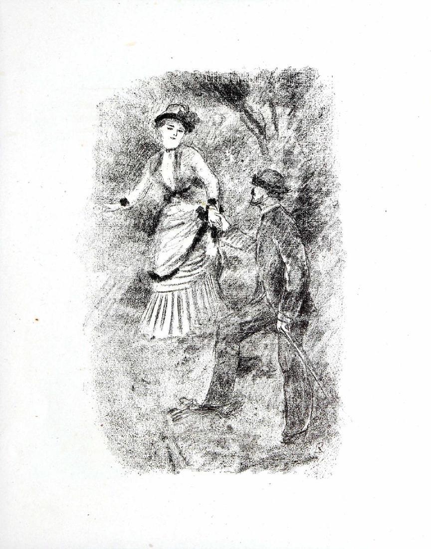 Pierre-Auguste Renoir - Jean Martin Steadies Helene the