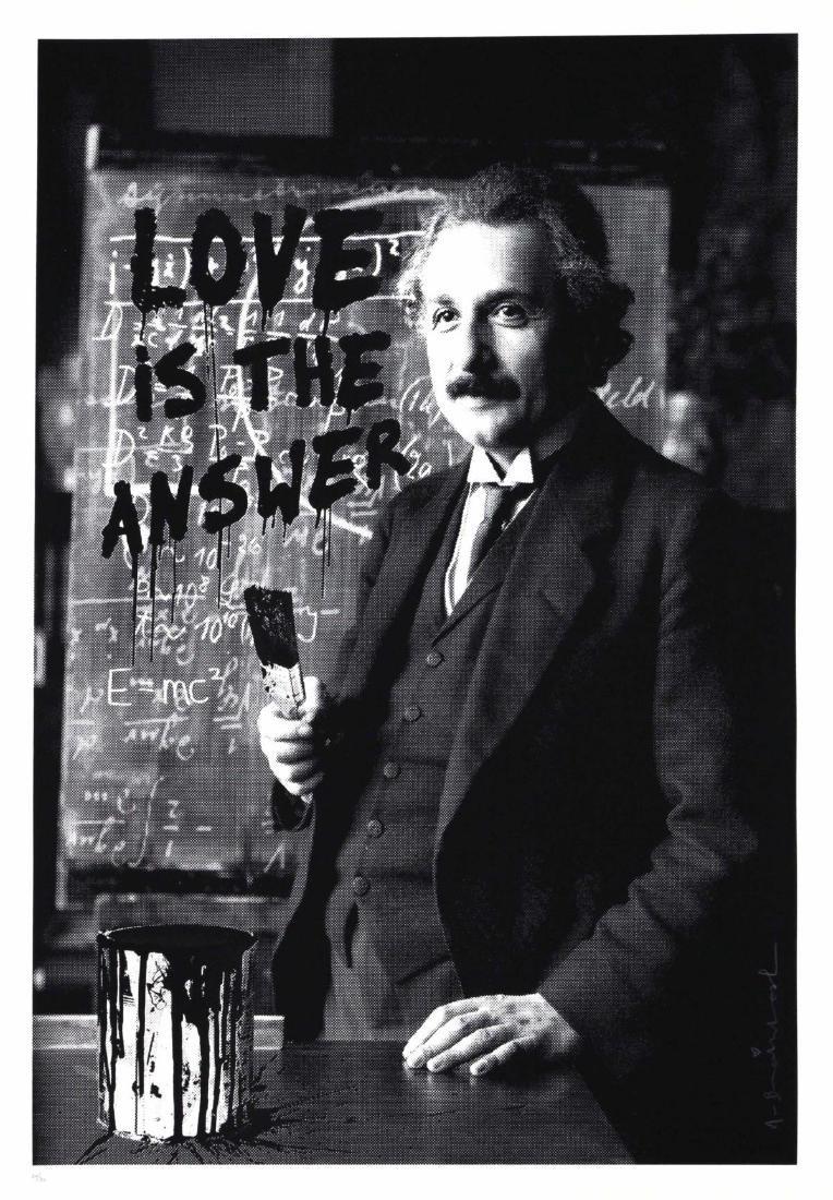 Mr. Brainwash - Love is the Answer (Einstein)
