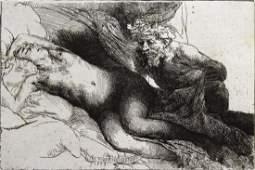 Rembrandt van Rijn After  Jupiter and Antiope