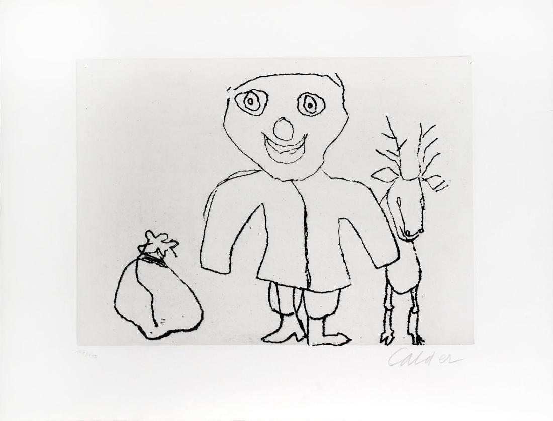 Alexander Calder - Untitled from Santa Claus