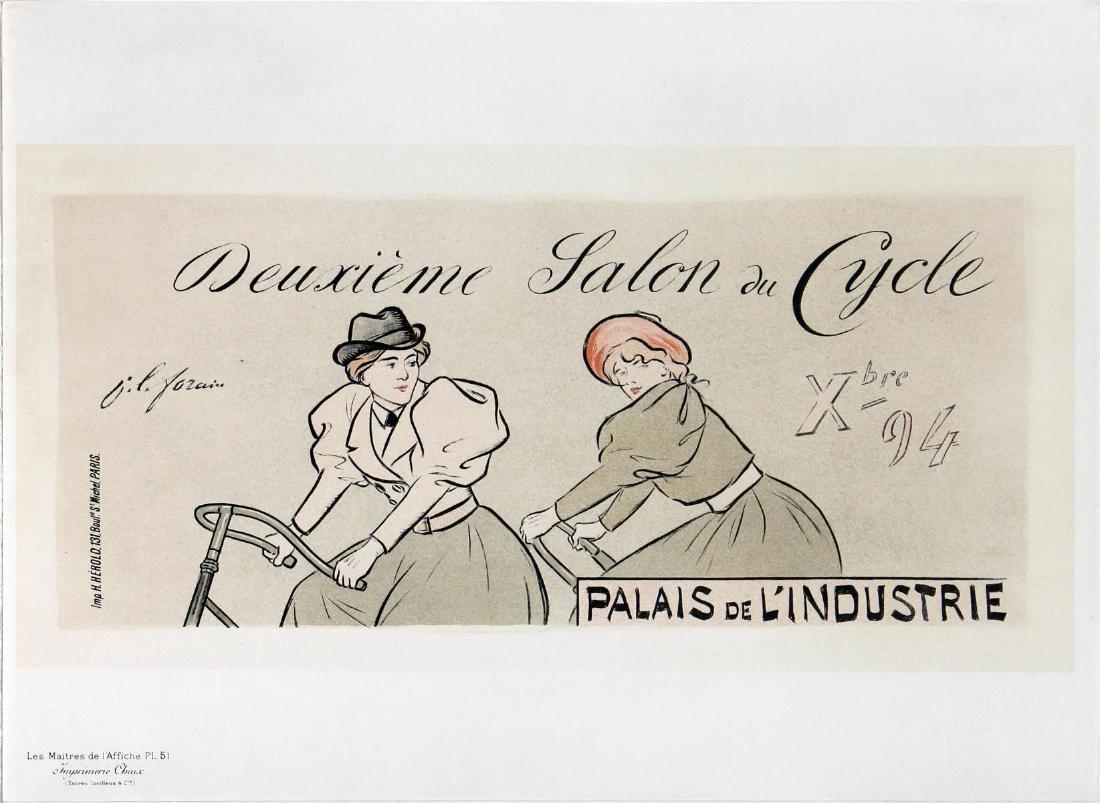 """Jean-Louis Forain - """"Deuxieme Salon du Cycle"""" Vintage"""