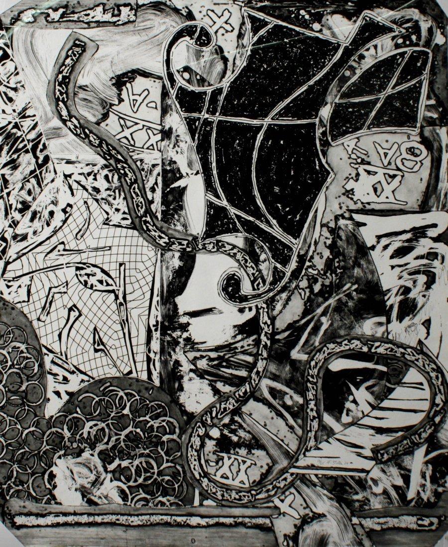 Frank Stella - Engraving IX