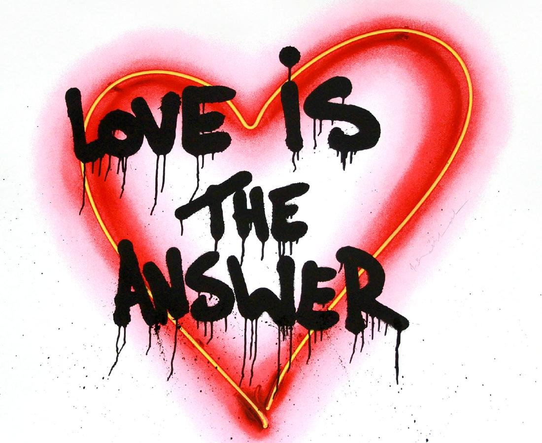Mr. Brainwash- Speak from the Heart
