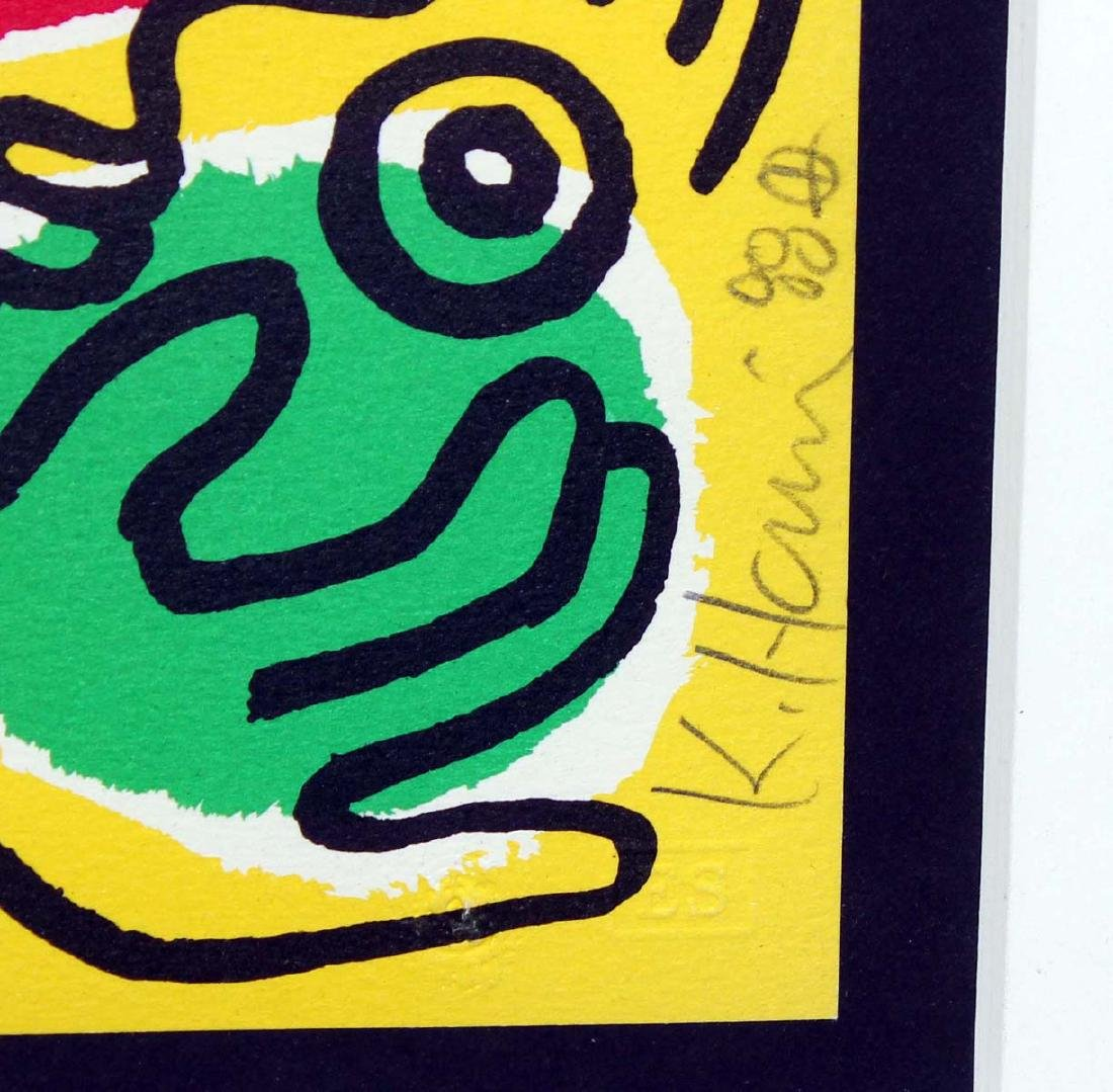 Keith Haring - International Volunteer Day (Lithograph - 3