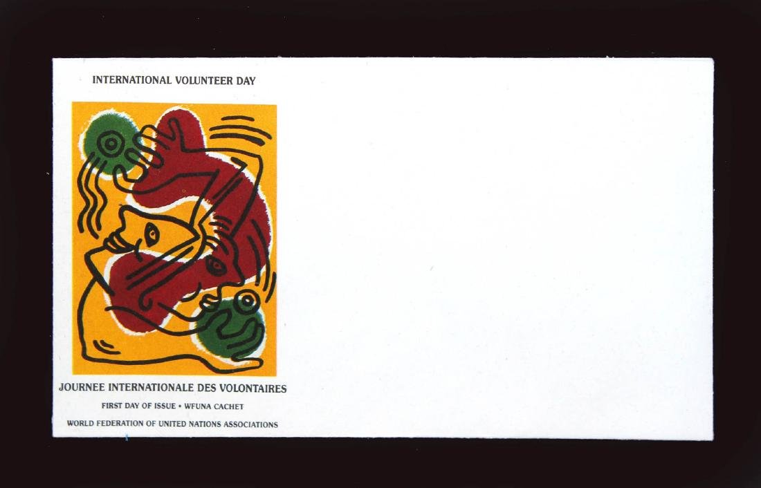 Keith Haring - International Volunteer Day (Lithograph - 4