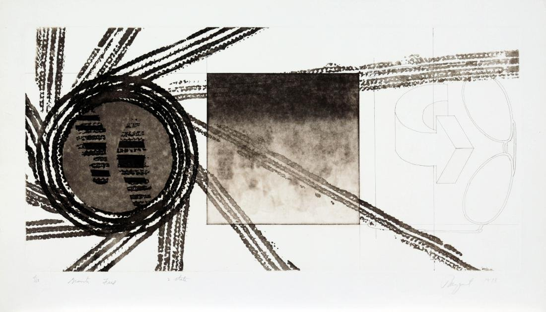 James Rosenquist - Gravity Feed (2nd State)
