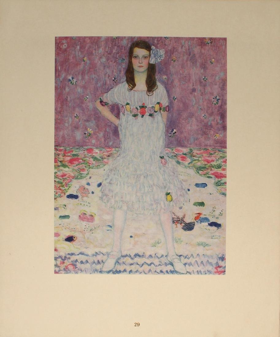 Gustav Klimt - Madchenbildnis