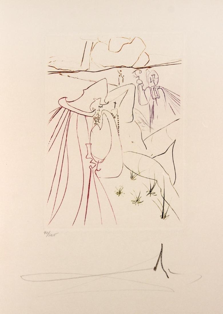 Salvador Dali - La ressuscitee