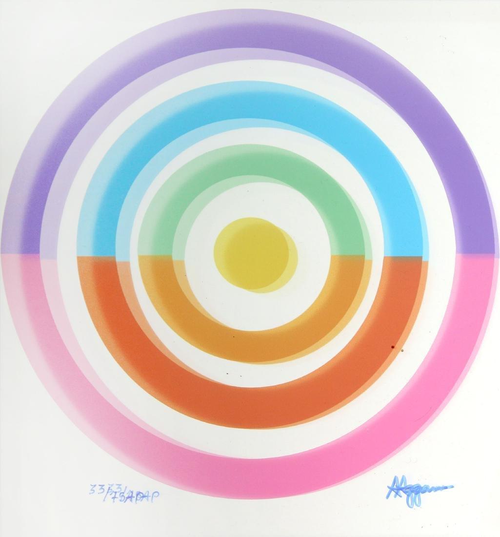 Yaacov Agam - Rainbow Vision