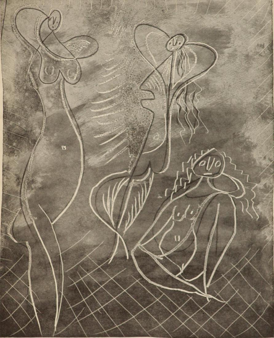 Pablo Picasso - Three Bathers