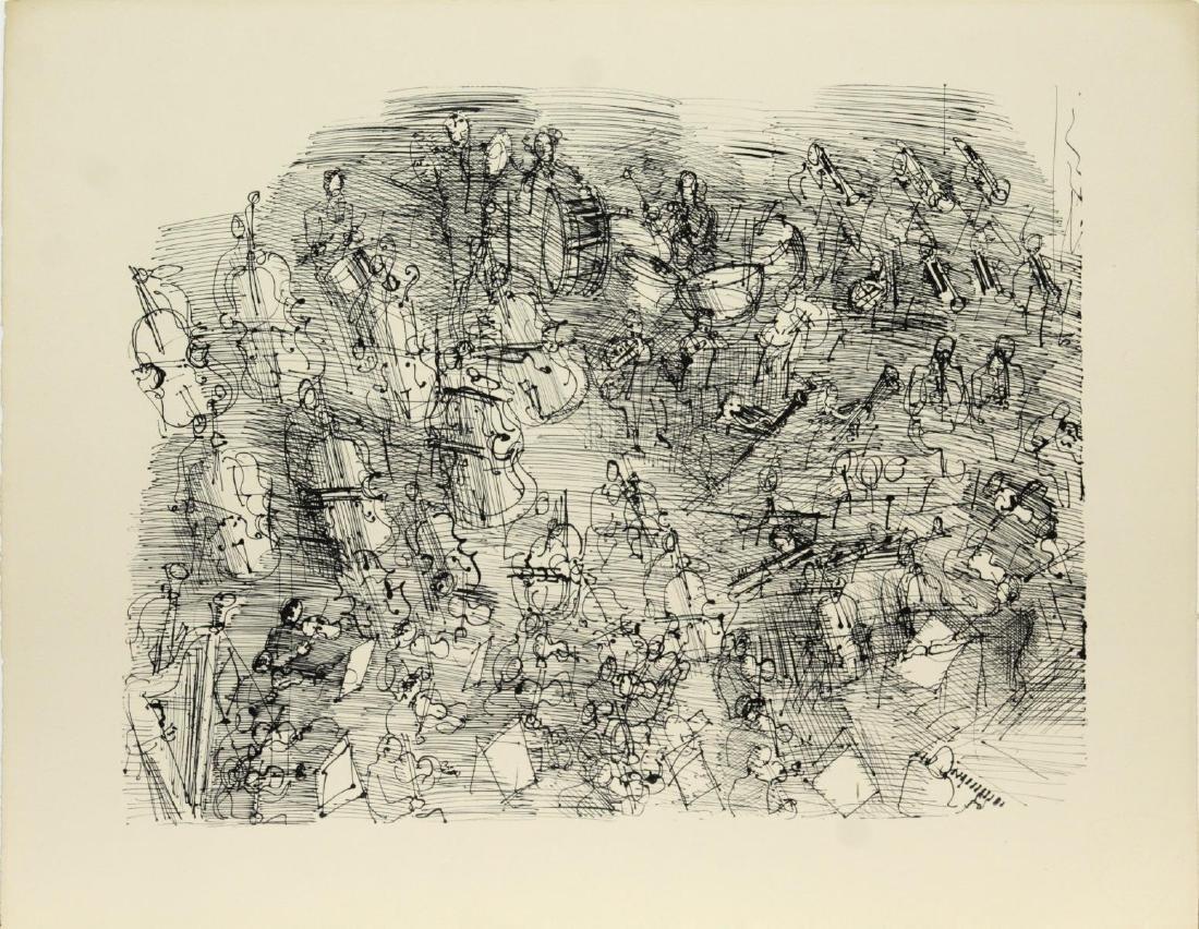Raoul Dufy - L'Orchestre
